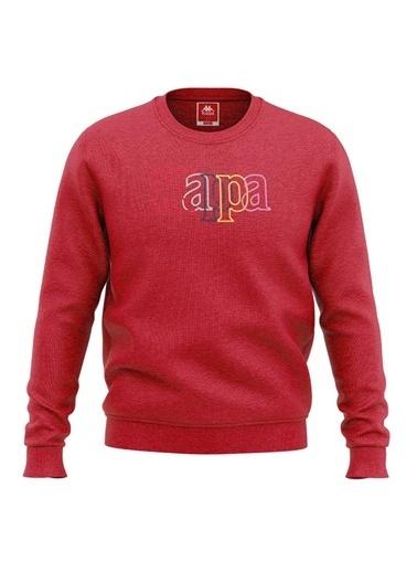 Kappa Çocuk Sw-Shirt Tartıv  Kırmızı